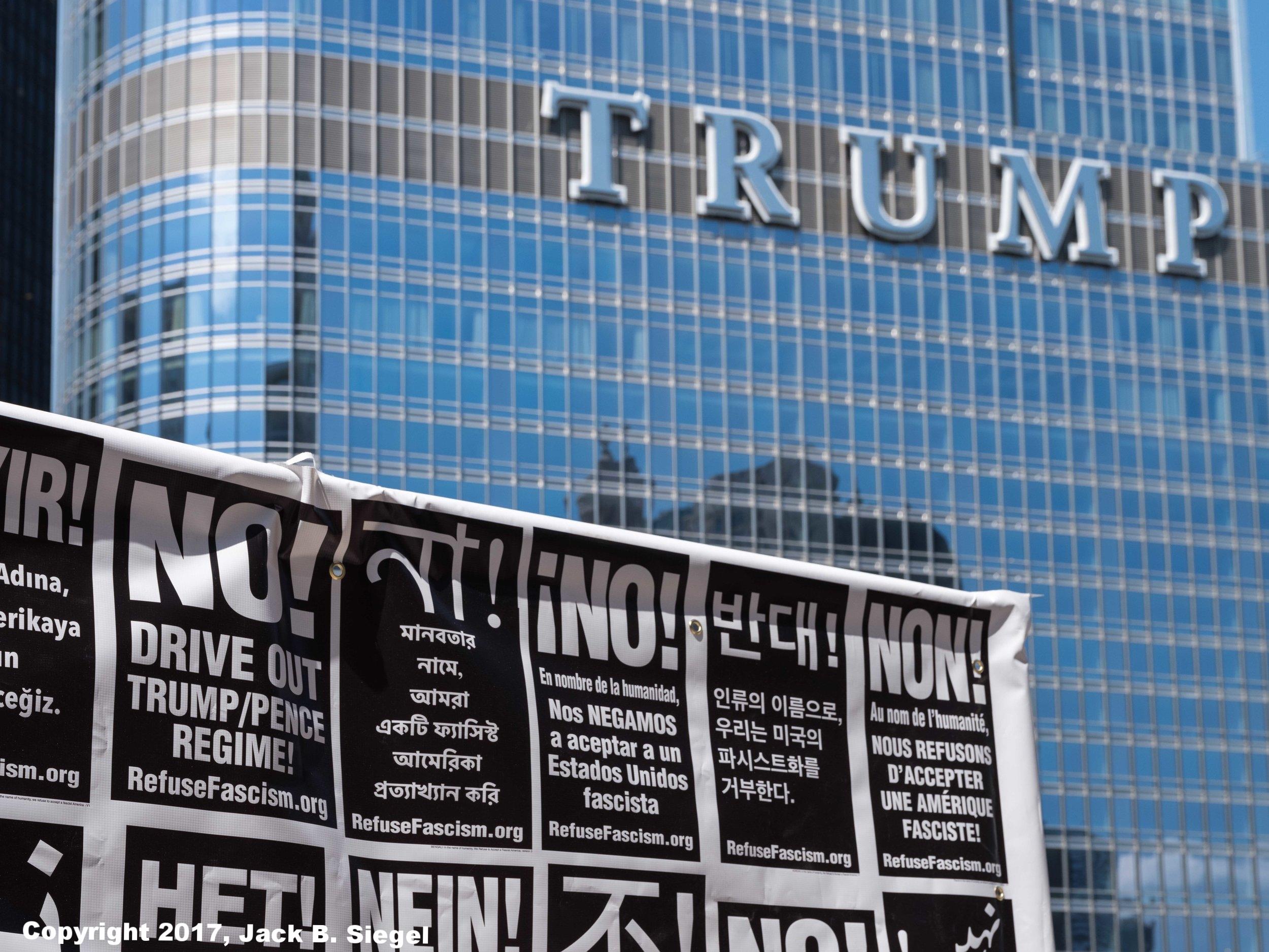 No Trump or Pence