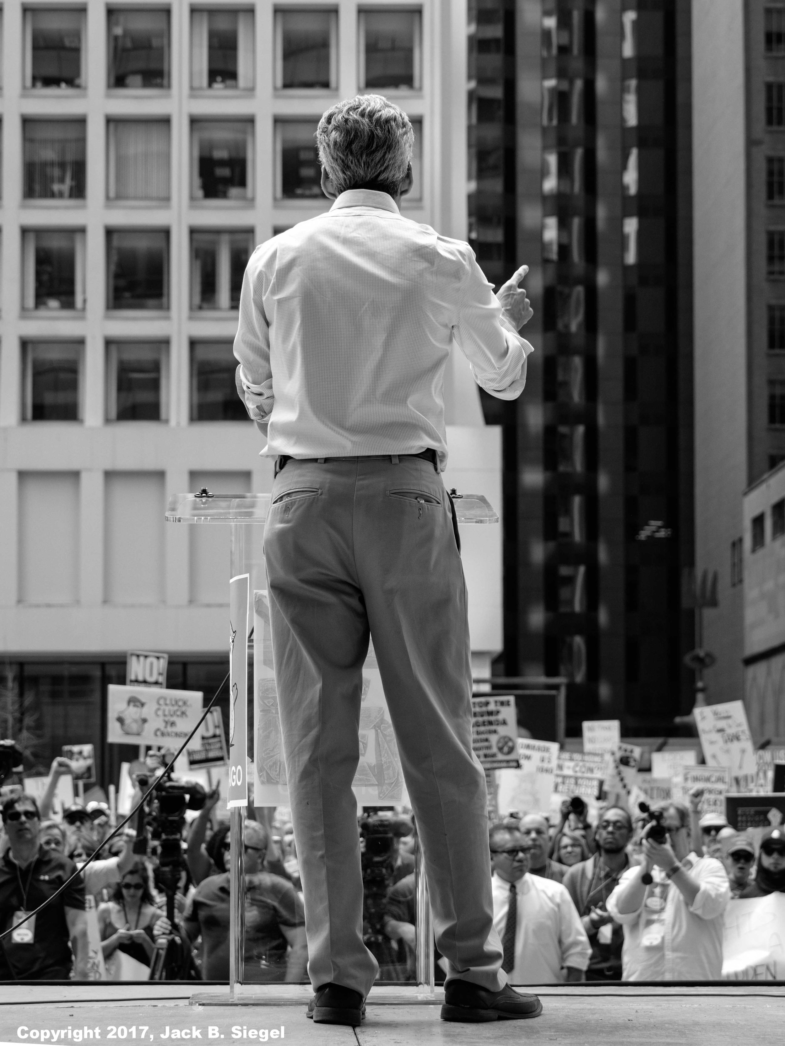 Speaking to the Crowd