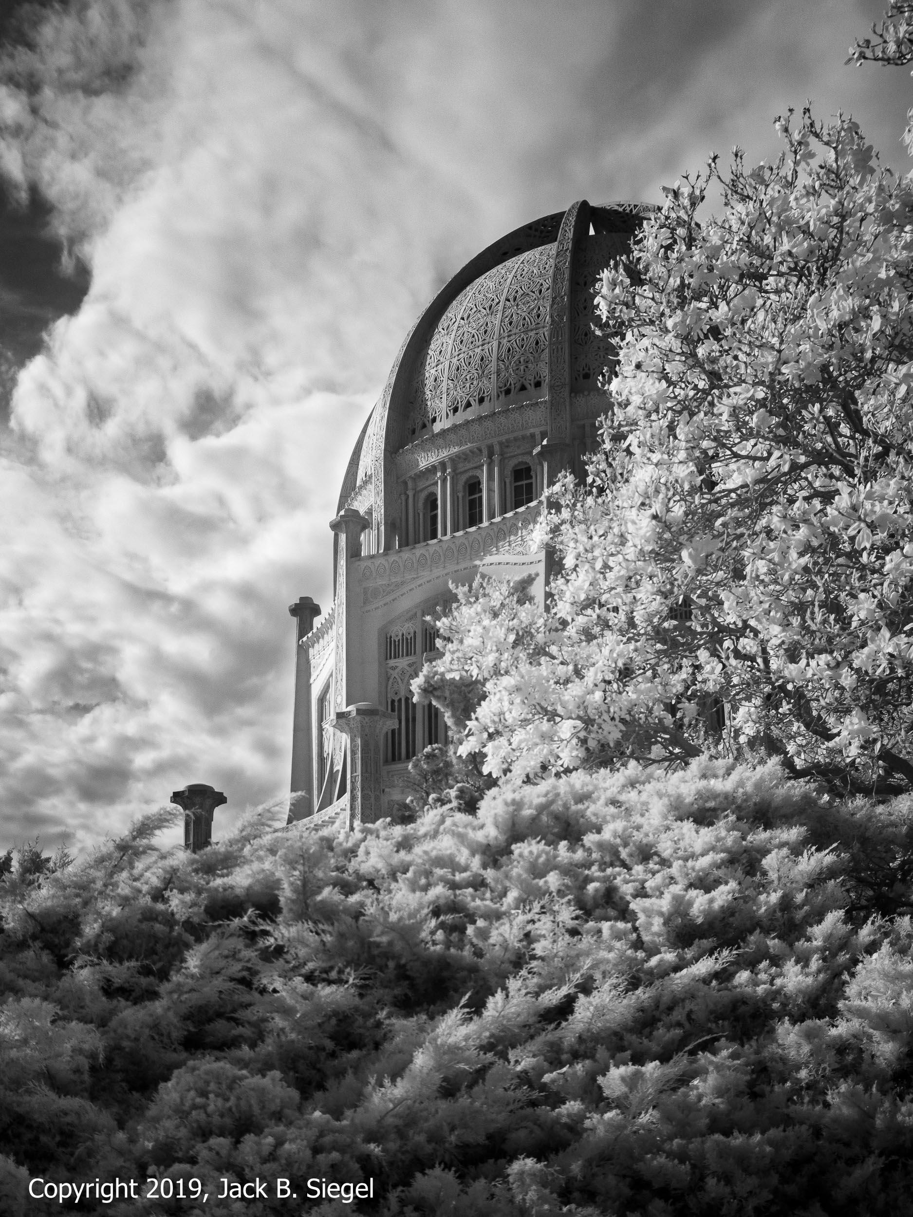 The Bahá'í Temple in Willamette