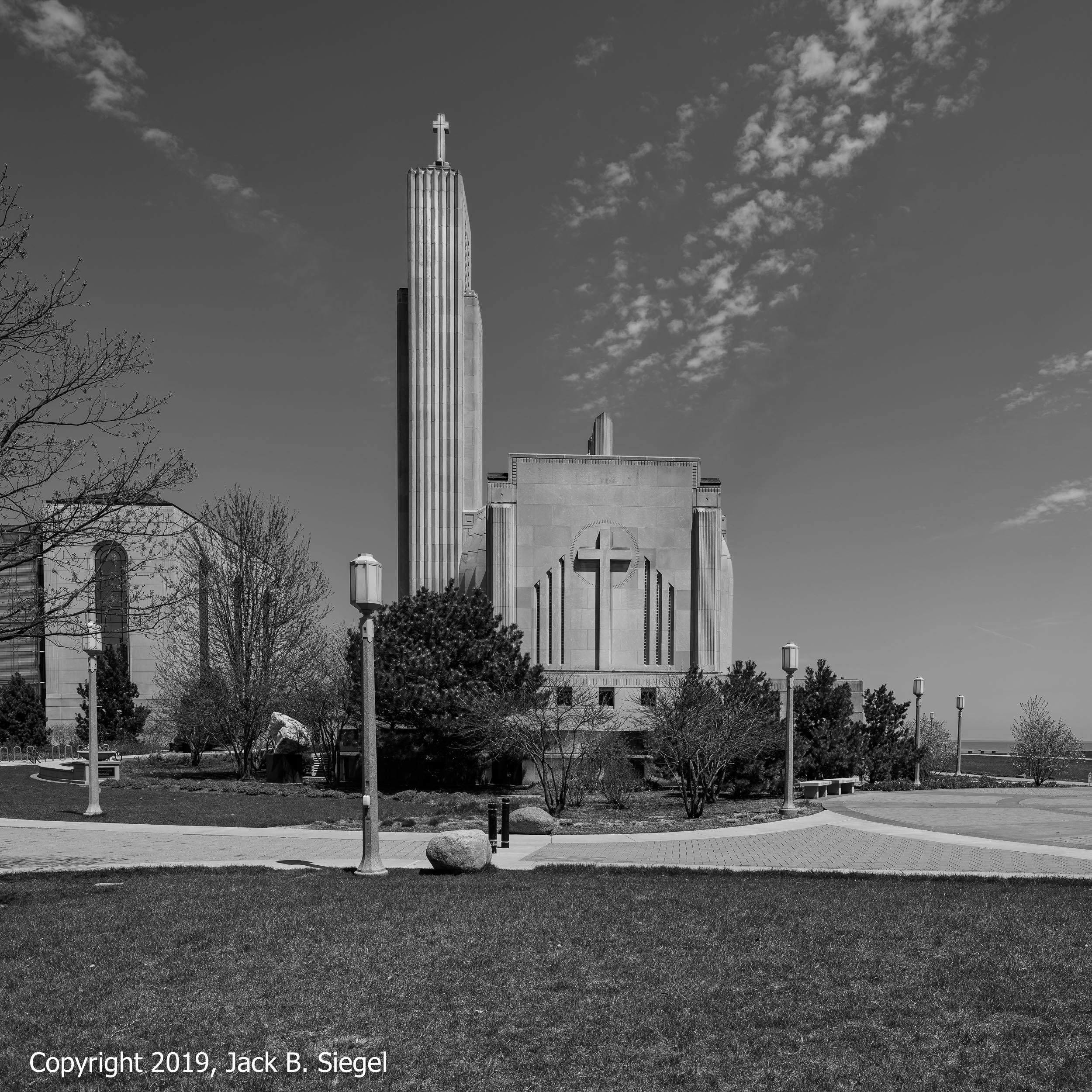 Madonna Della Strada Chapel on Chicago Loyola University's Main Campus I