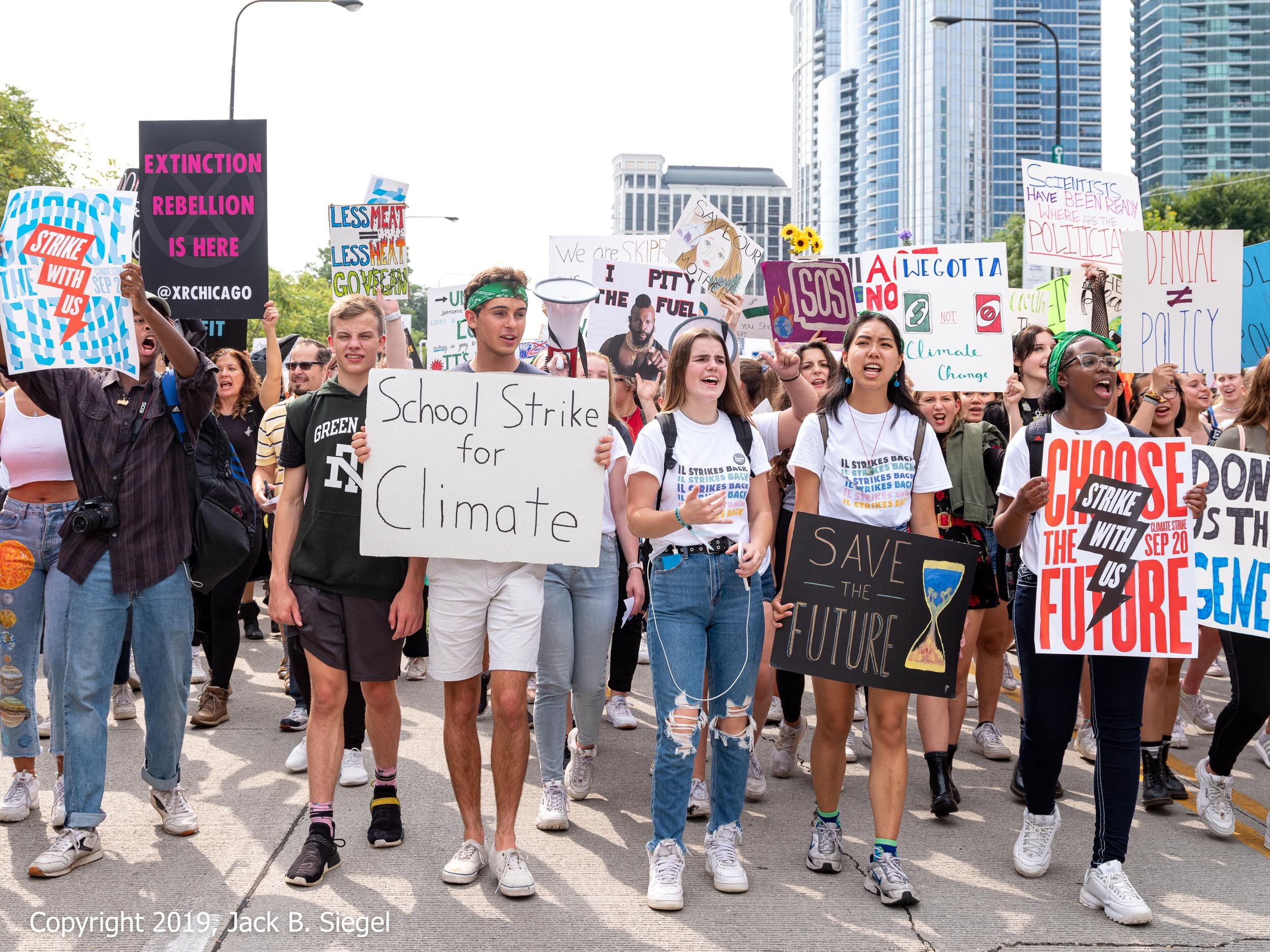 """""""School for Strike for Climate"""""""
