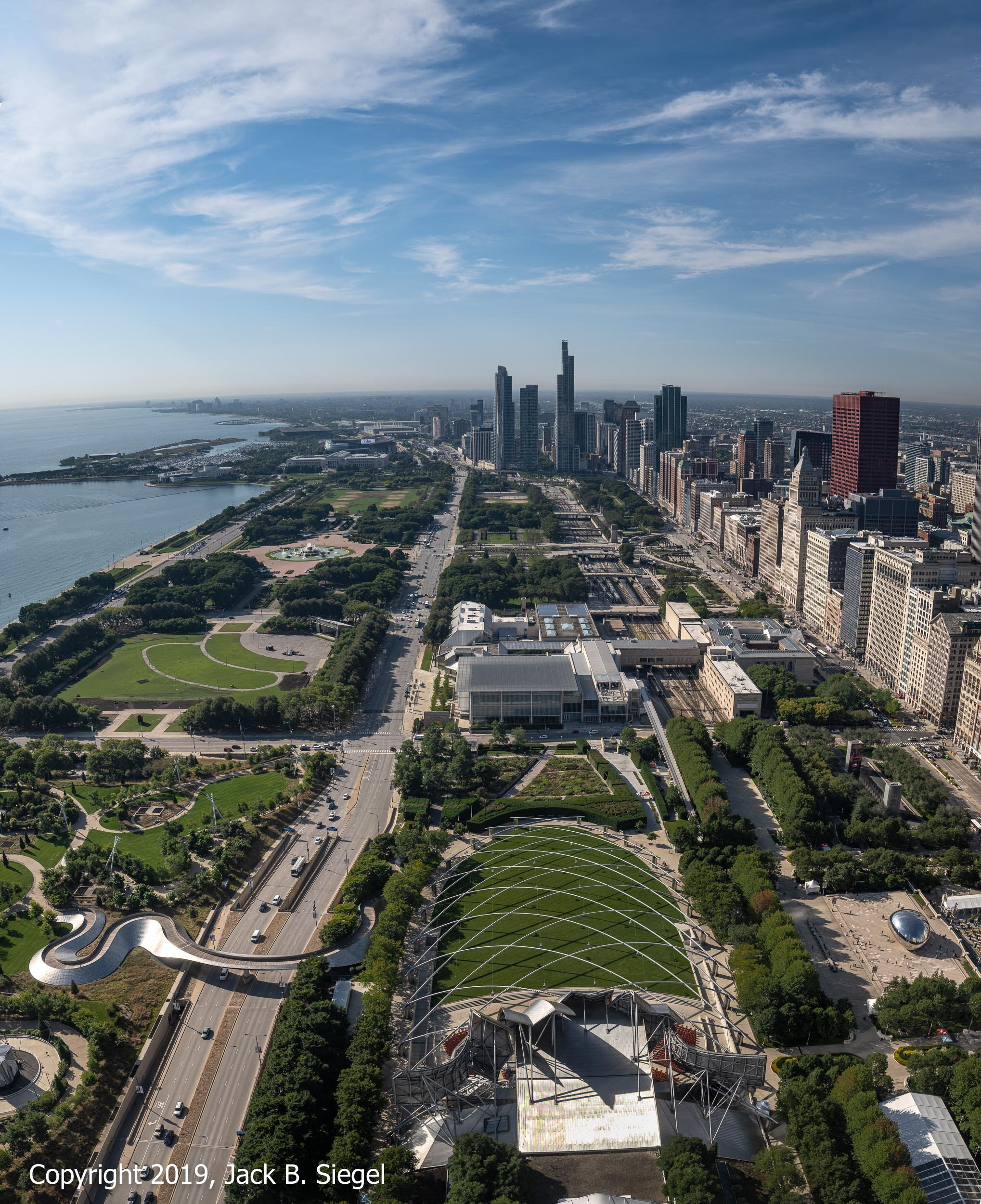 Grant Park from the 44th Floor of the Aon Center