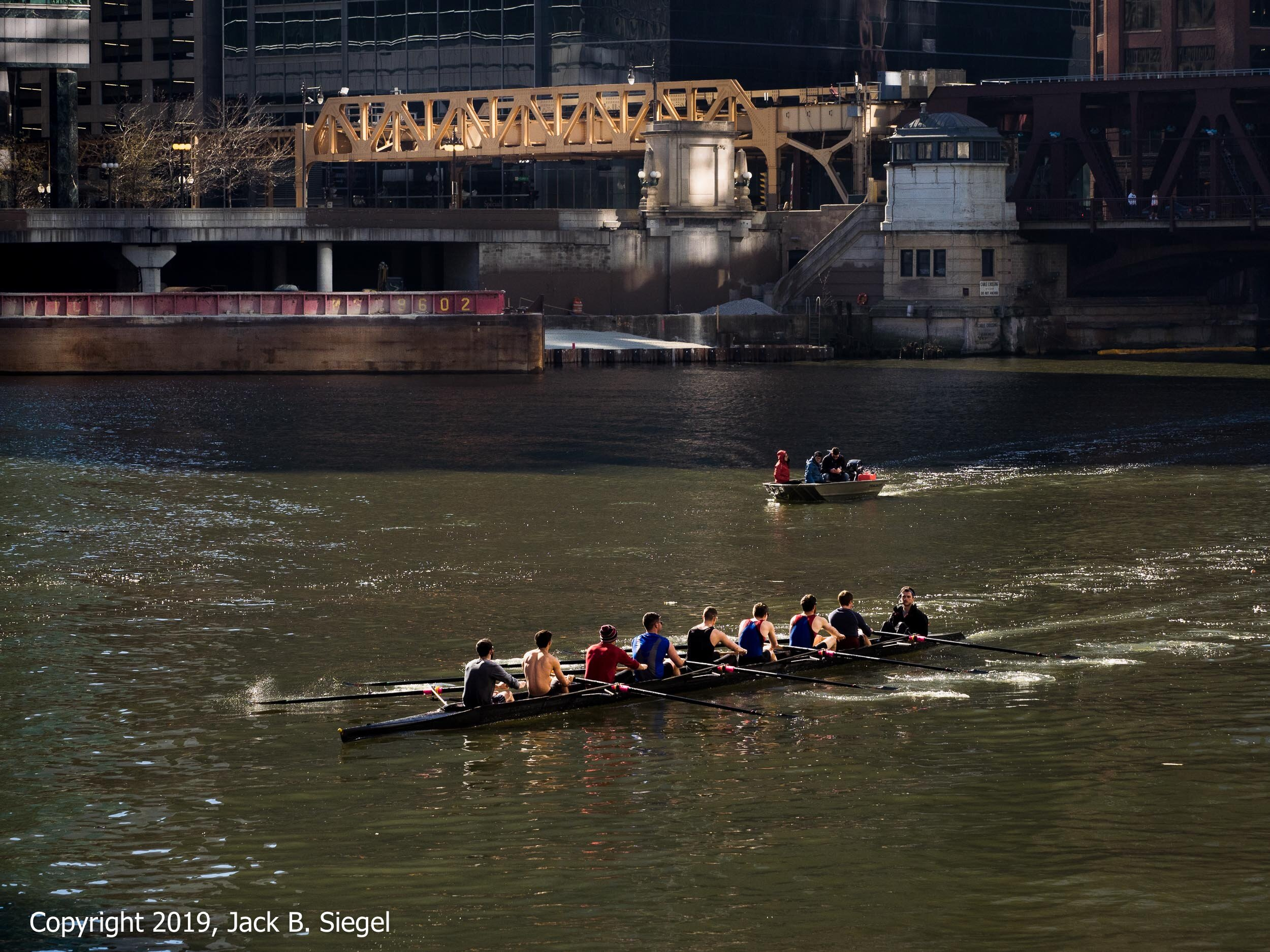 Saturday Morning Outing on the Chicago River