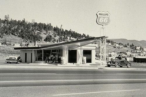 From  TwentySix Gasoline Stations  by Ed Ruscha