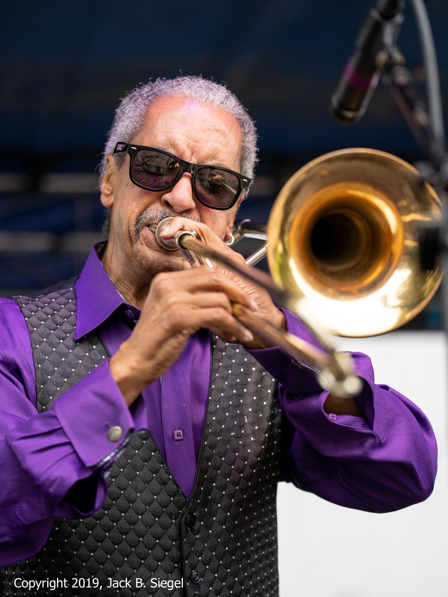 Bill McFarland with the Chicago Horns