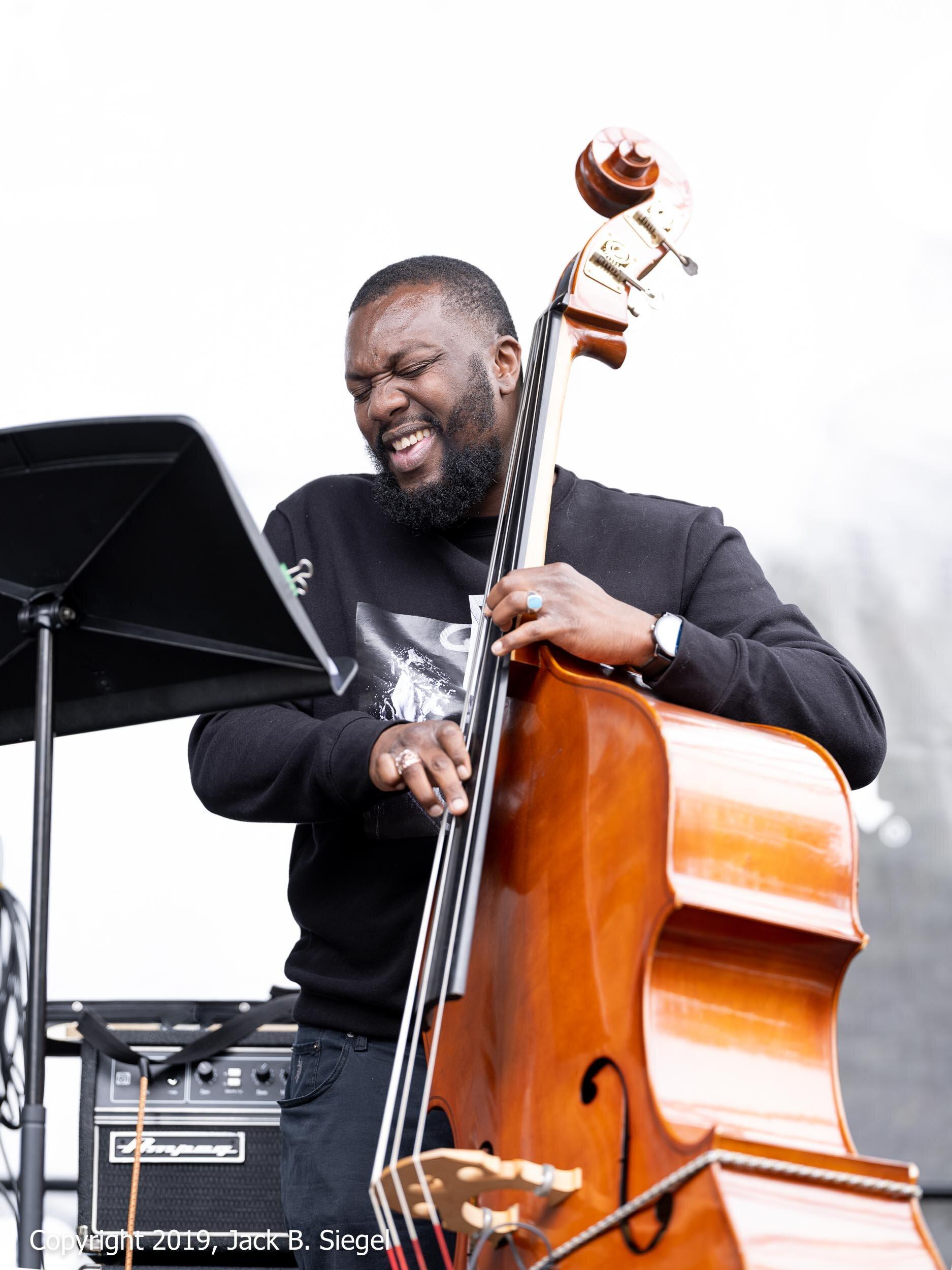Ivan Taylor with the Irvin Pierce Quartet