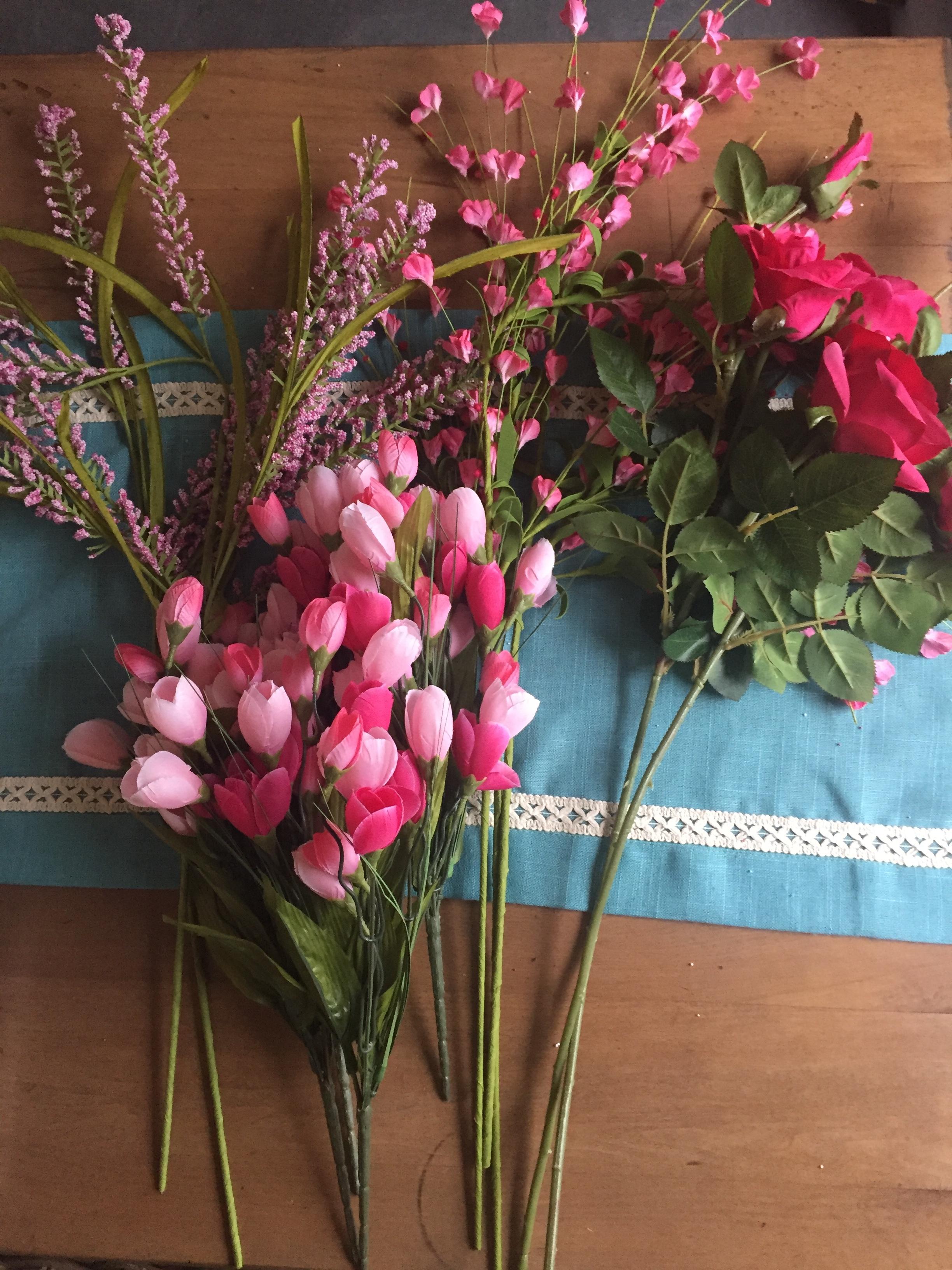 flowers for umbrella