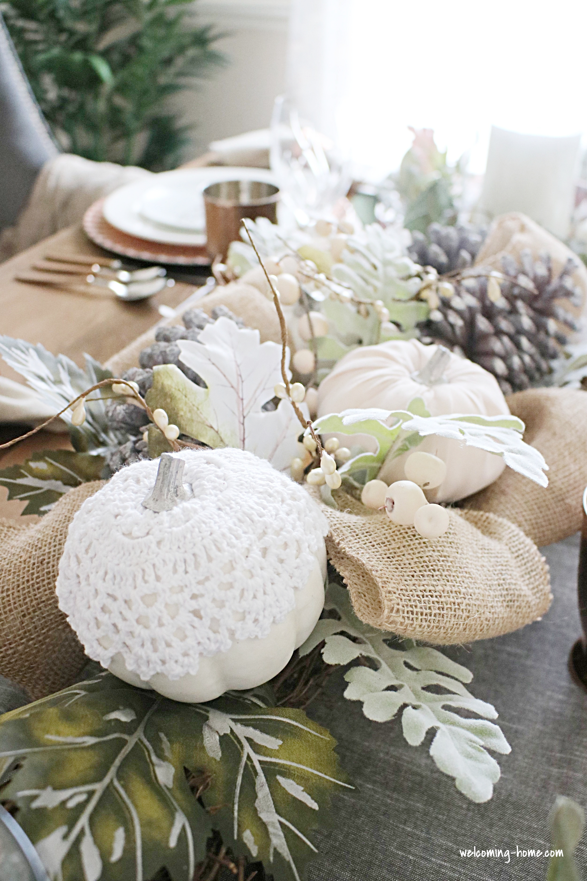 adult table centerpiece