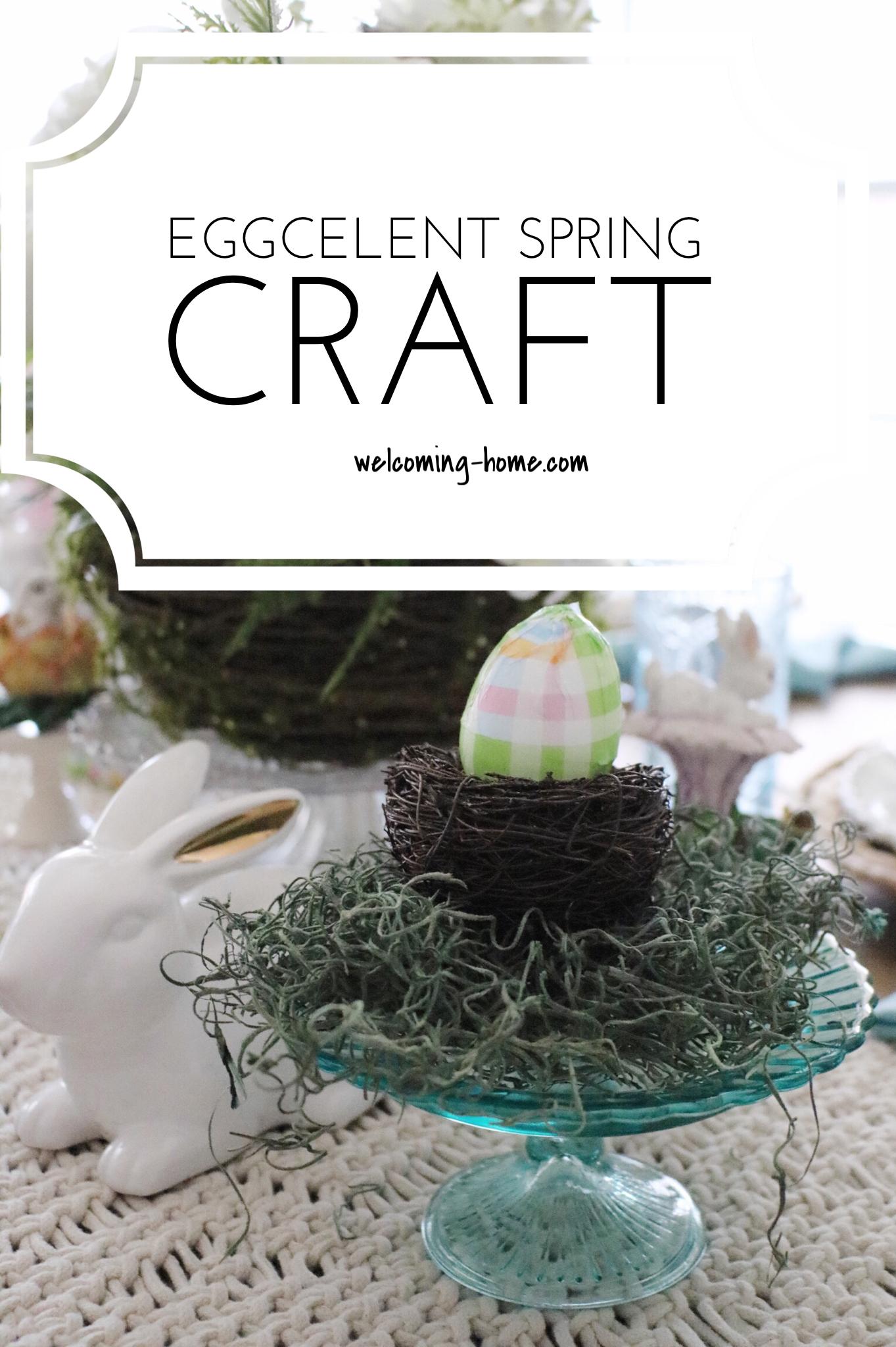 eggcelent spring craft pinPNG