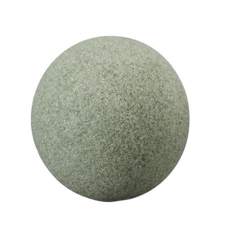 You'll also want to grab a green  Styrofoam ball by floracraft from Hobby Lobby that is 6in in  diameter. You really  don't want to go bigger than that unless you want it really big for a topiary on the  porch or something.