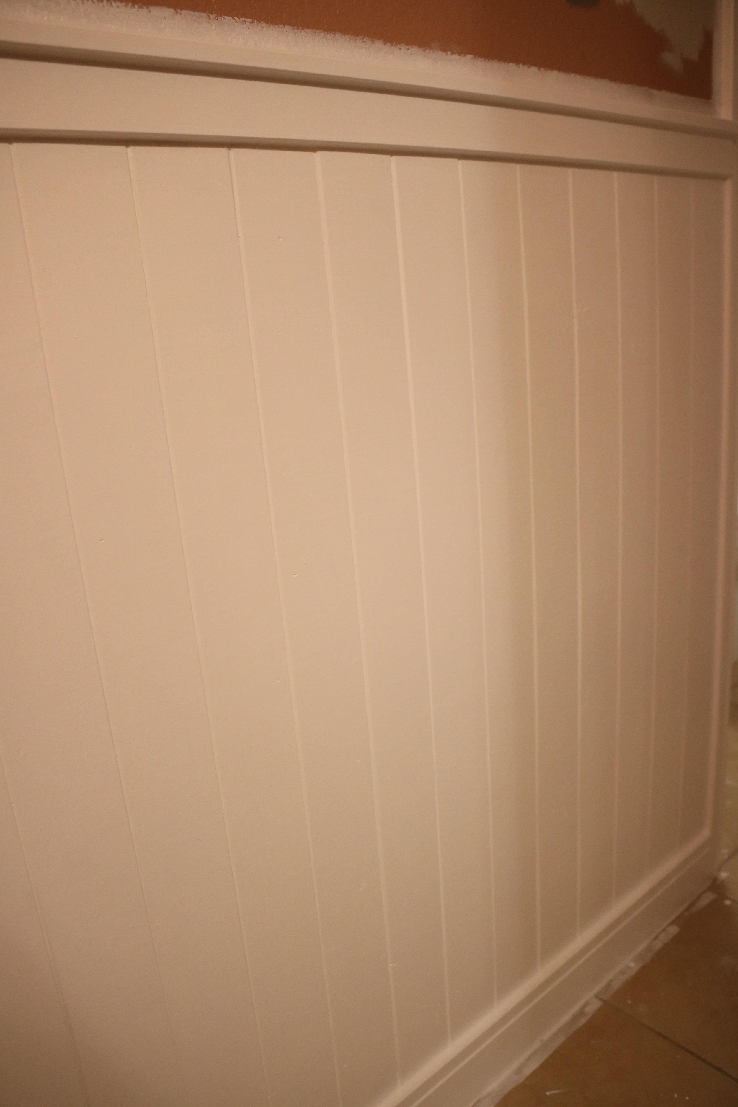 2 coats of white paint