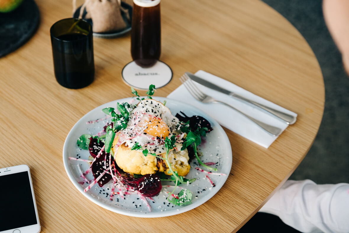 Beautiful food photography of Melbourne's best brunch spot