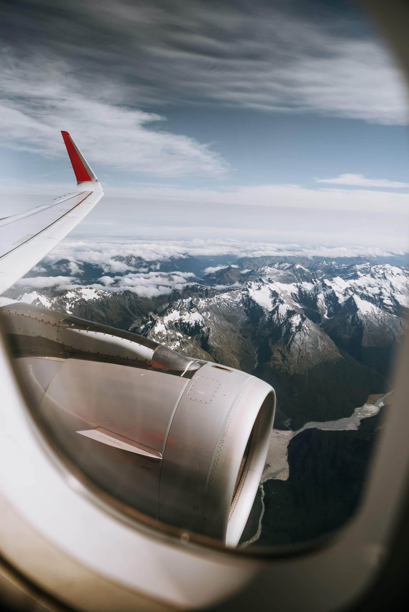Melbourne photographer captured these stunning views while flying over Queenstown, New Zealand