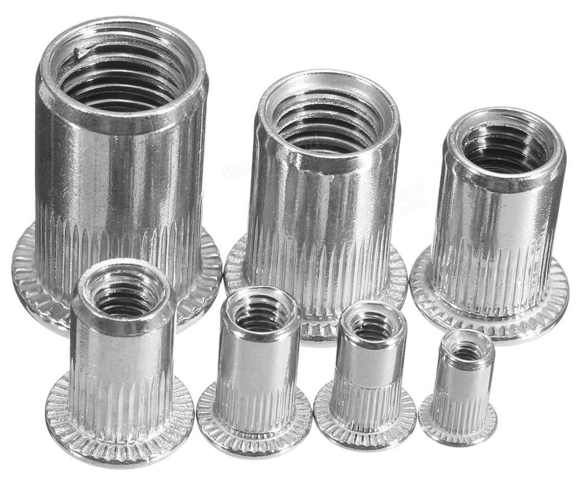 Metal fasteners used in part fabrication (Rivnuts & PEMs)