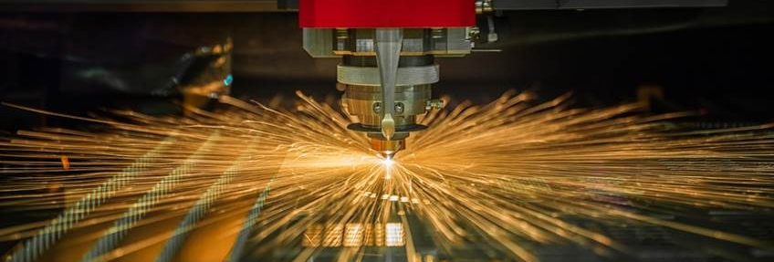 Precision laser cutting services from APX York Sheet Metal