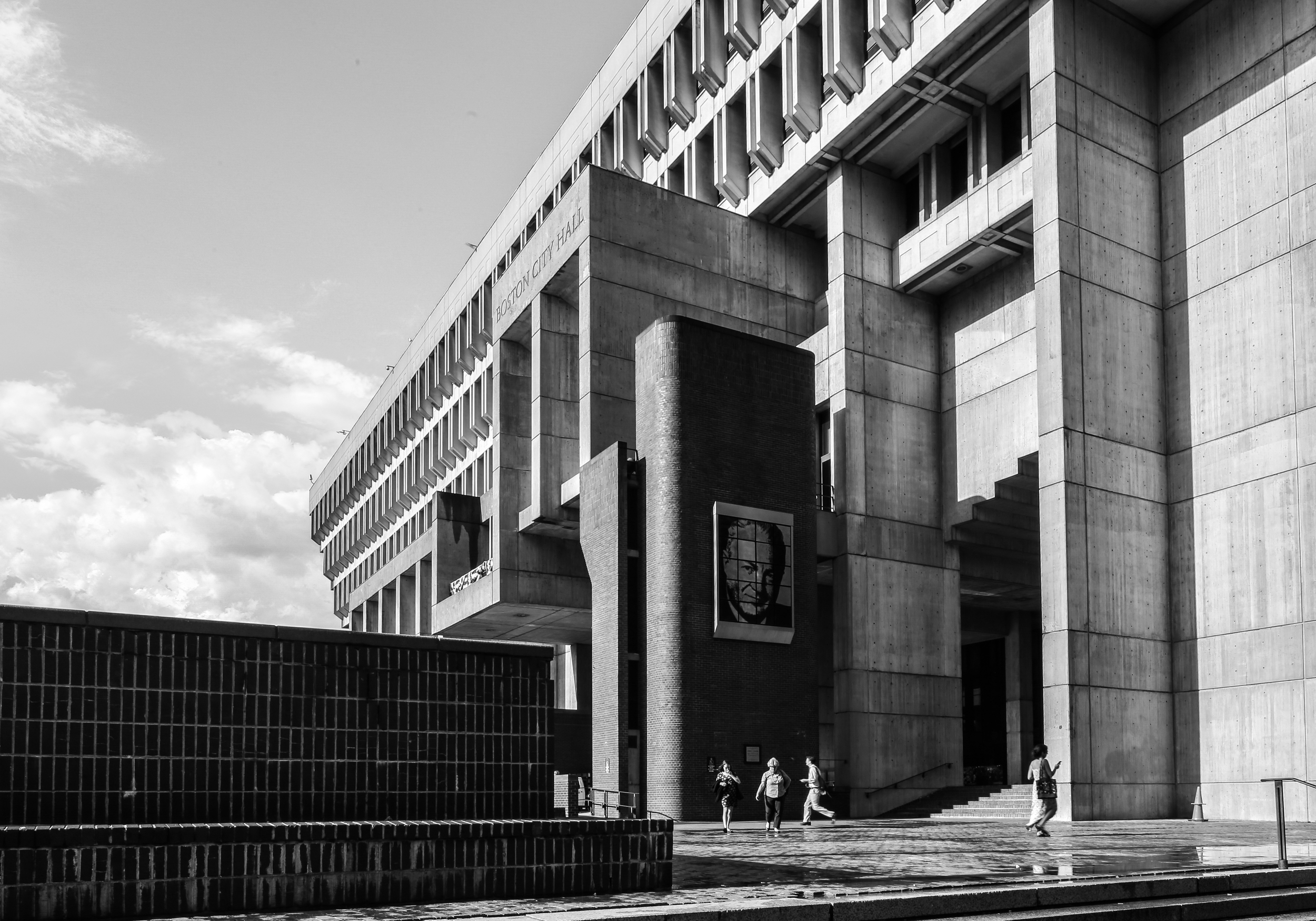 Boston City Hall - Boston, Massachusetts - Gerhard Kallmann and Michael McKinnnell