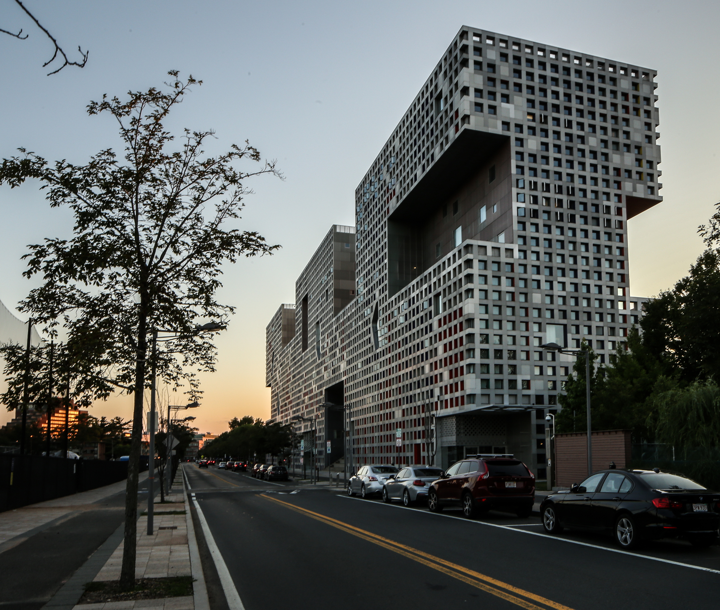 Simmons Hall at MIT Campus - Cambridge, Massachusetts - Steven Holl