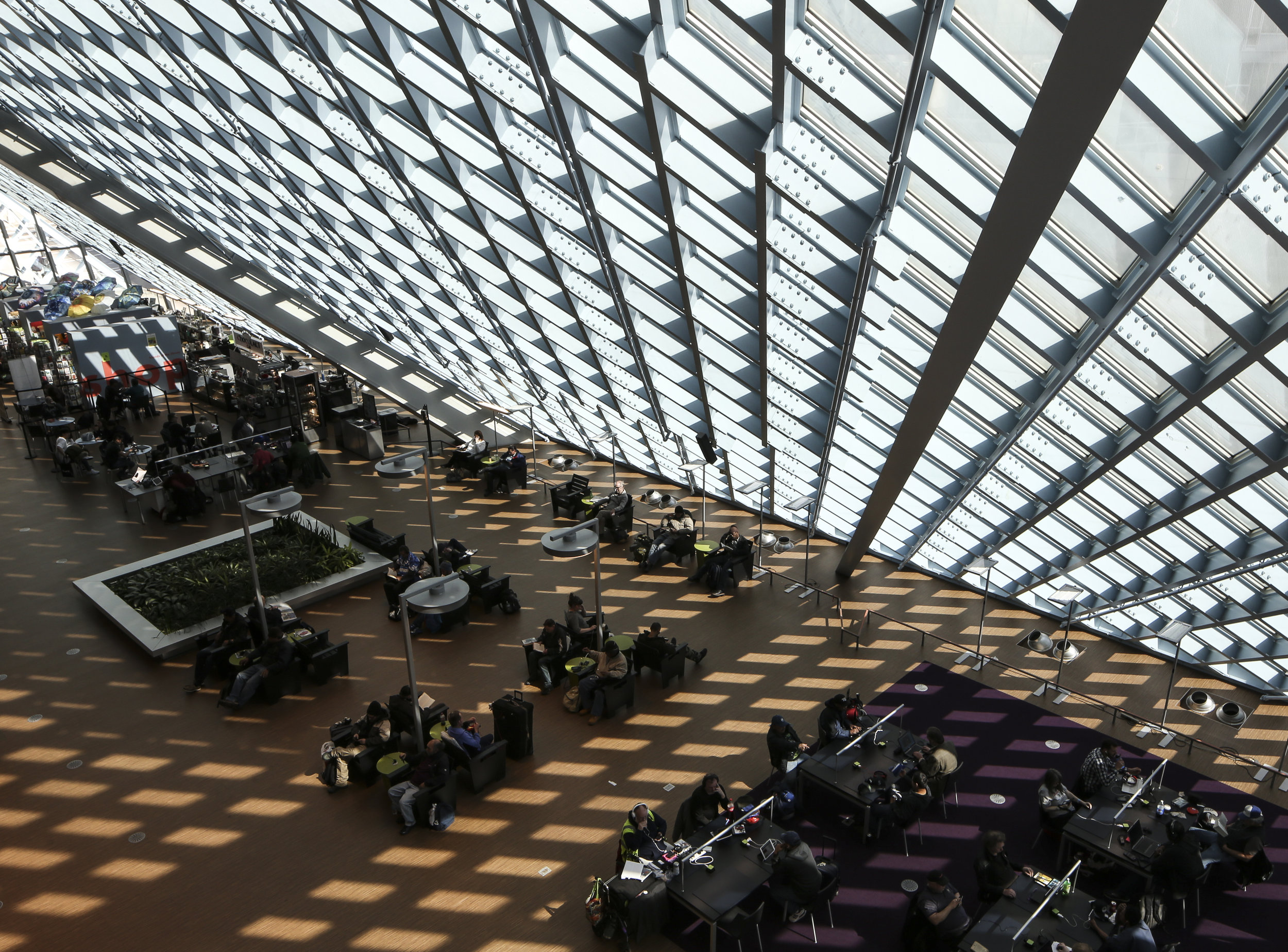 Seattle Central Library - Seattle, Washington - Rem Koolhaas, Joshua Prince-Ramus
