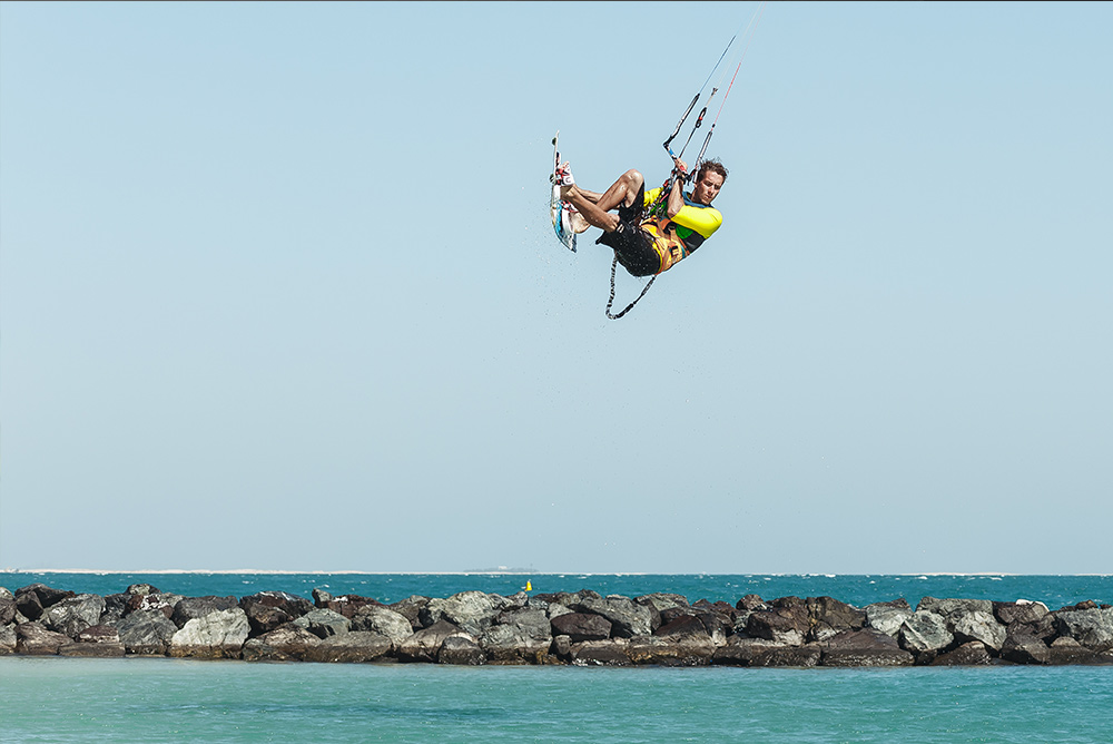 Kitesurfing gives you wings!