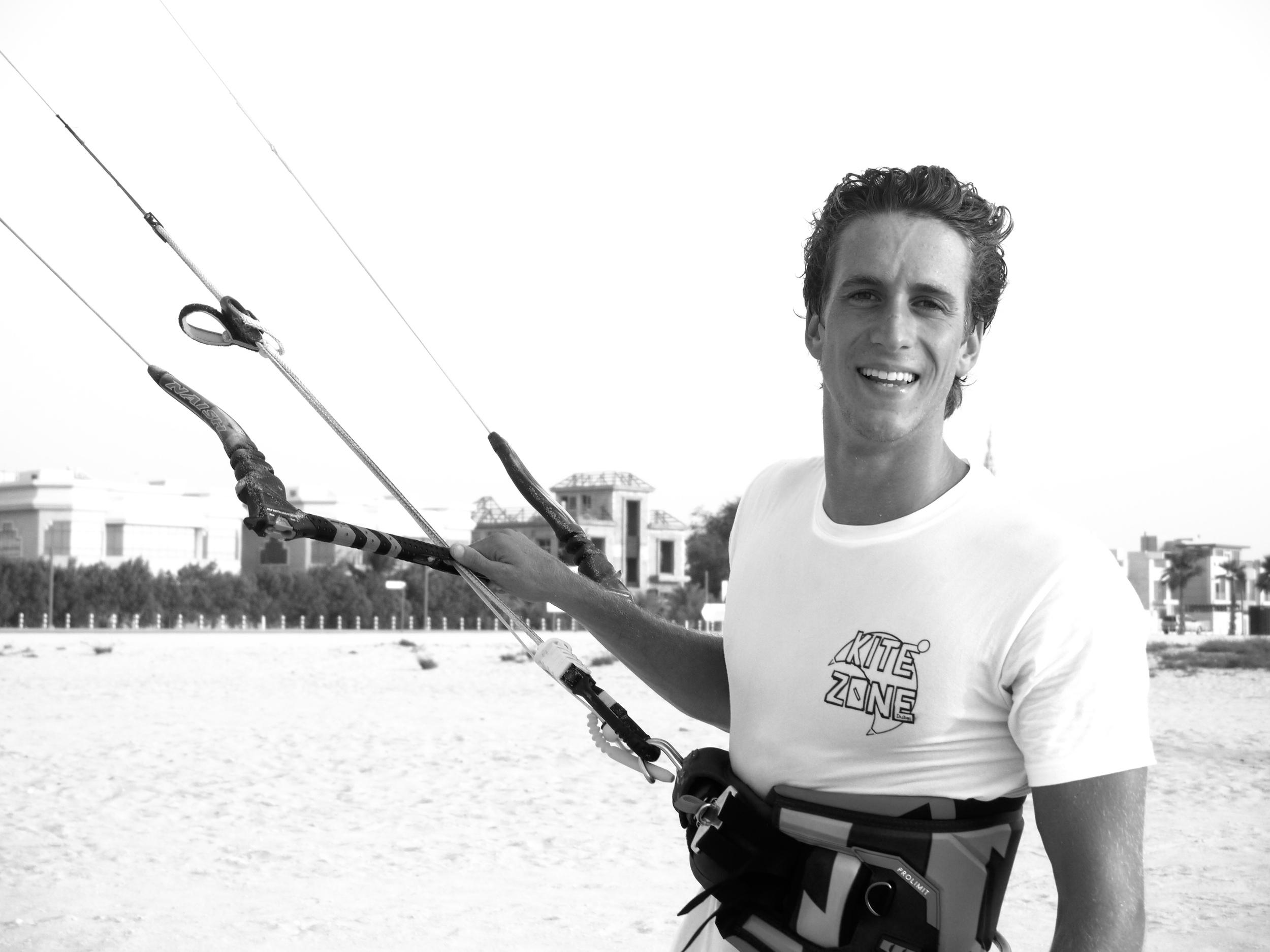 Lewis Deaves    Founder of Kite Zone Dubai