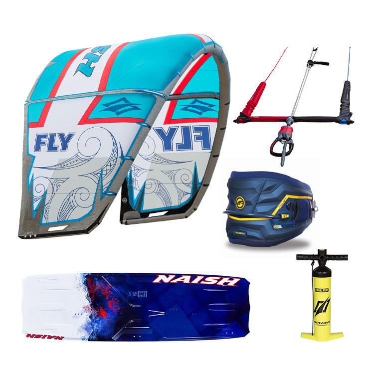 kitezonedubai kitesurfing package deal dubai kite board harness pump.jpg