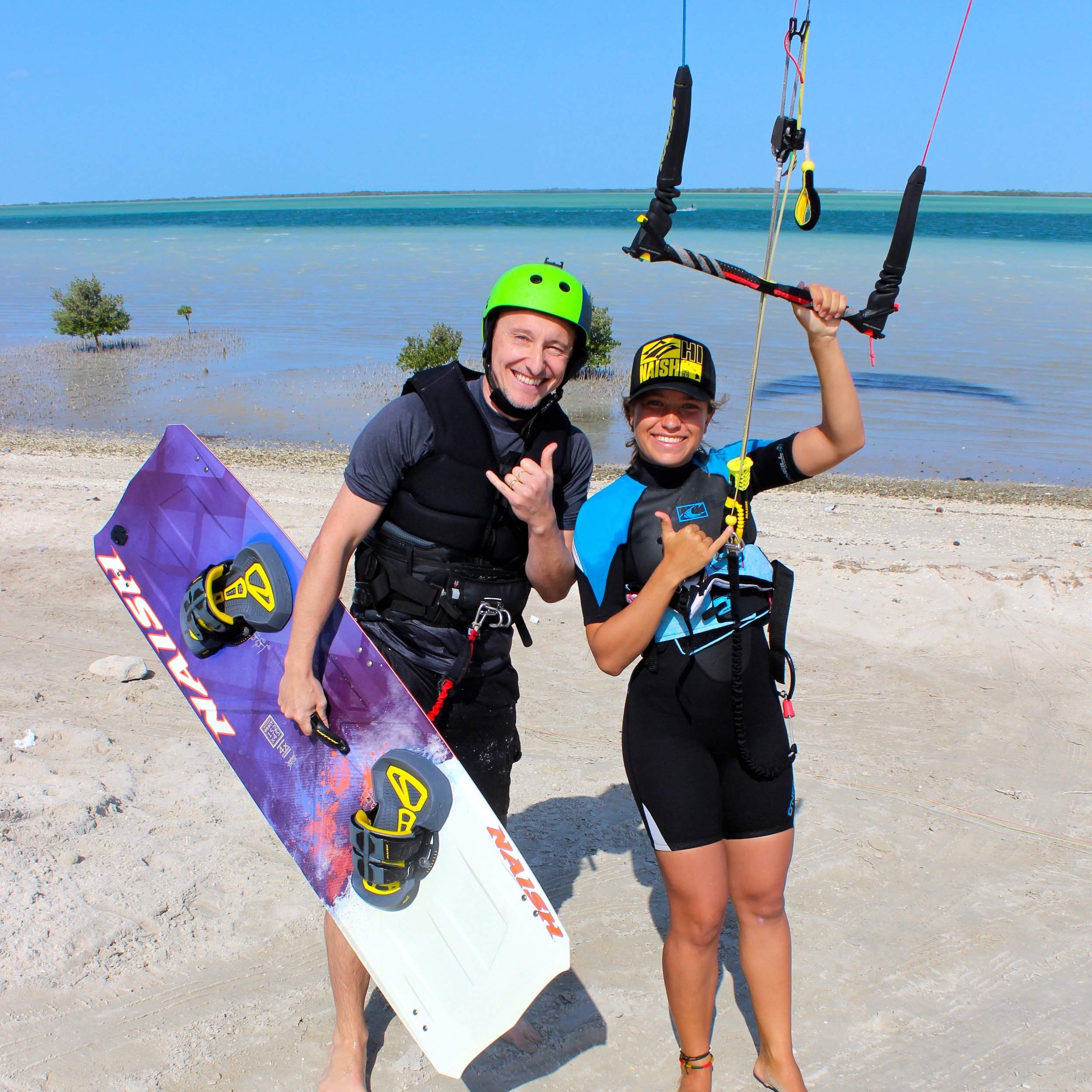 kitesurfing in Dubai - a great place to learn!