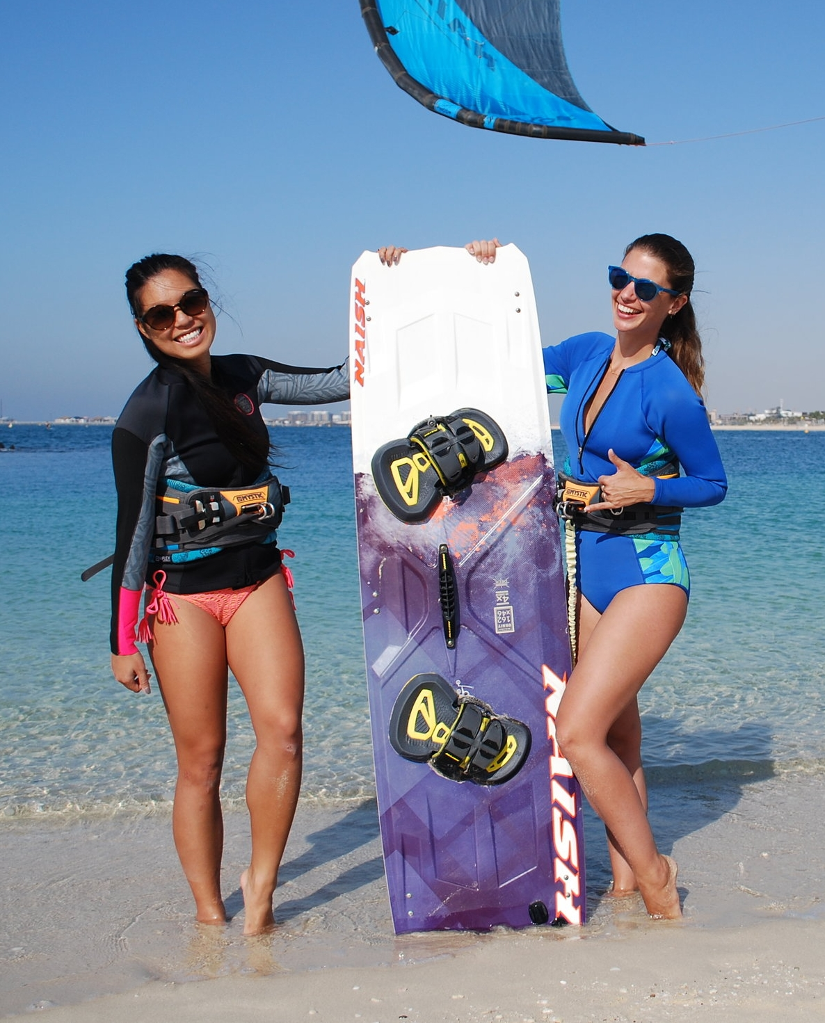 Girls learning how to kitesurf.JPG
