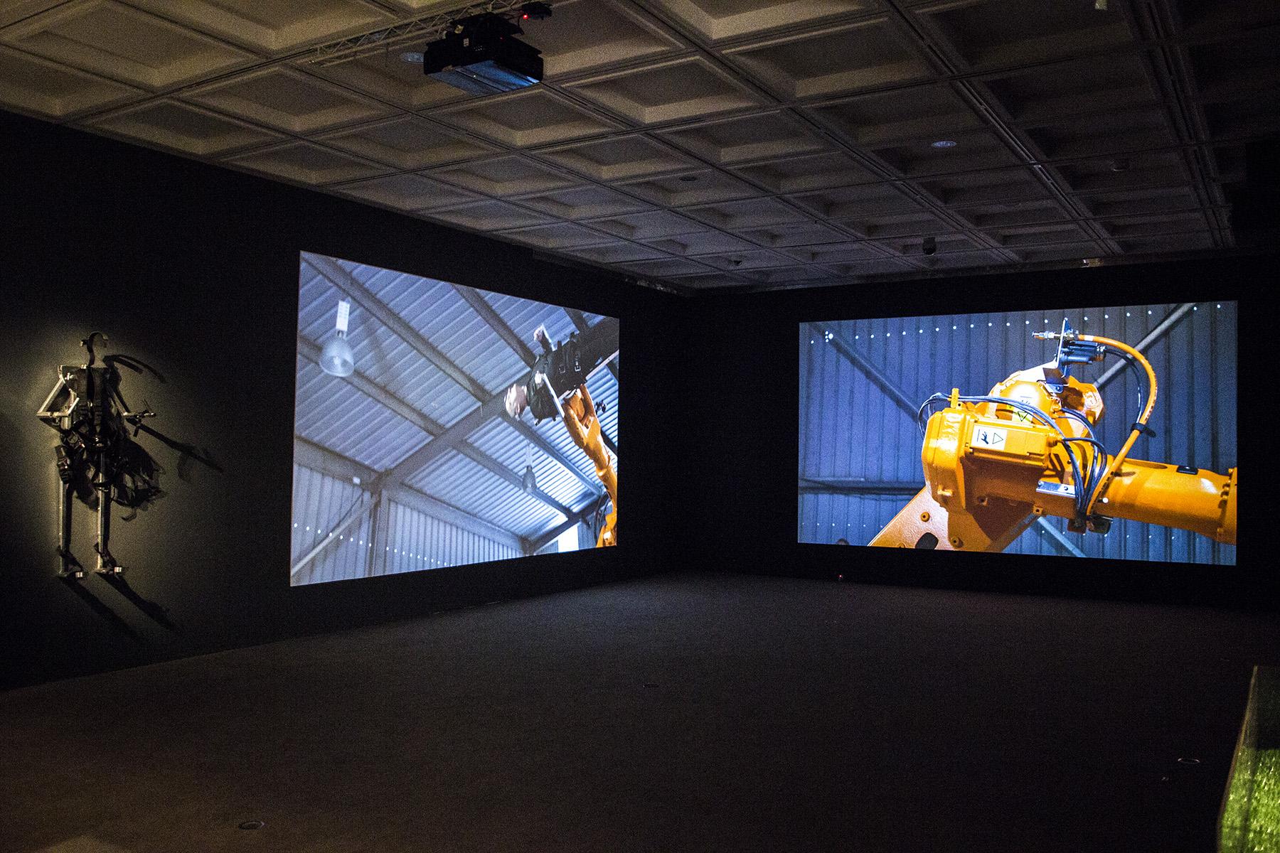 'Propel' Installation at Lawrence Wilson Art Gallery 2015