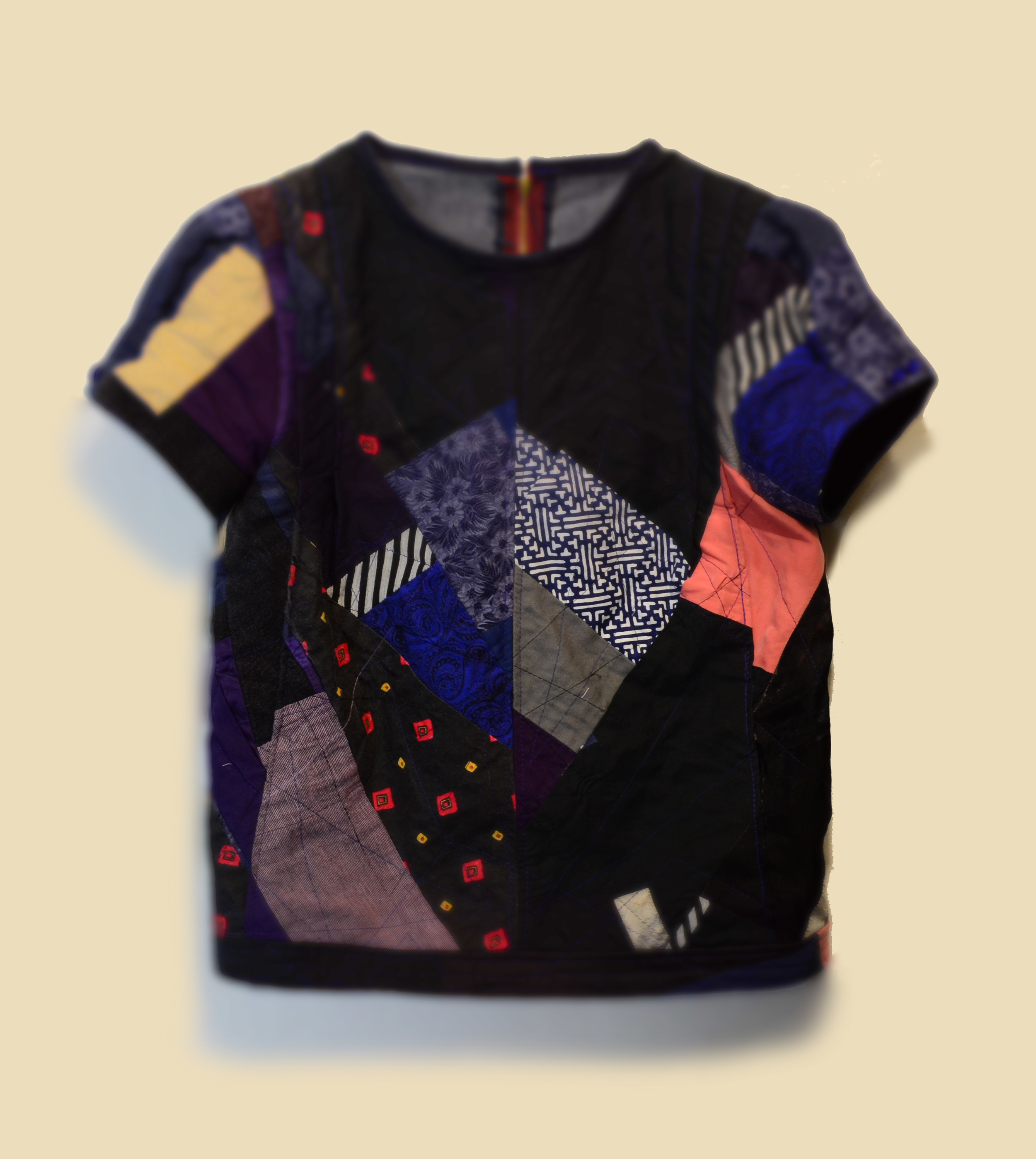 quilted tee #1