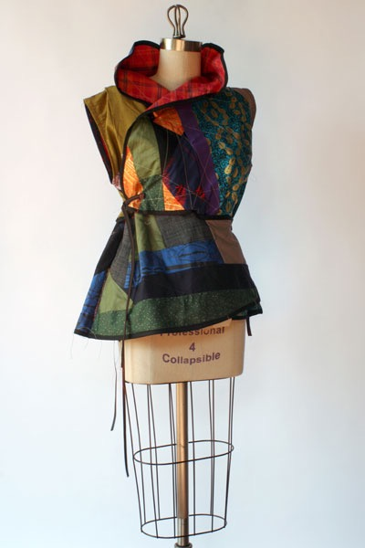 quilted smock