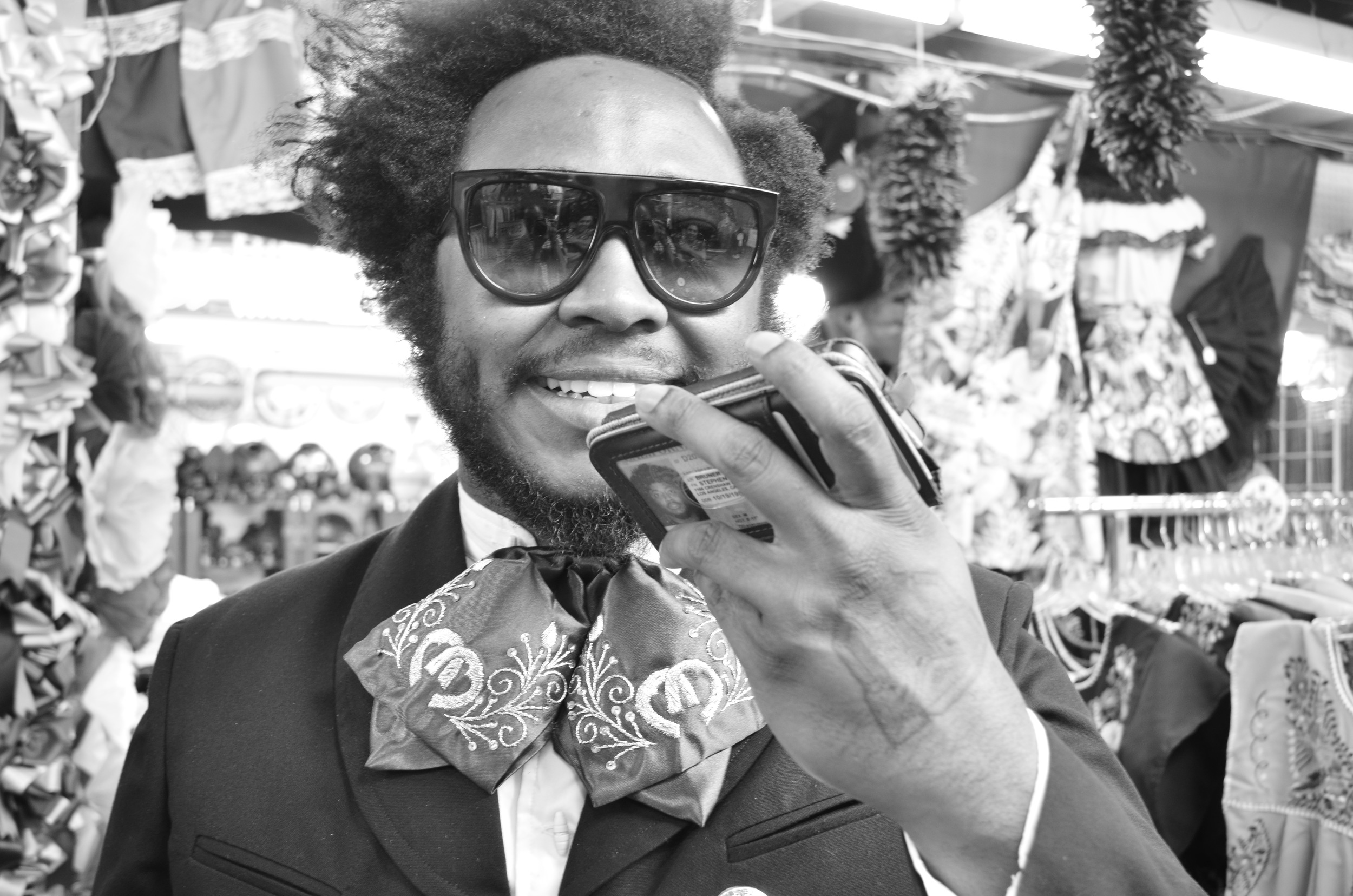 Thundercat in Mariachi Suite (2014)