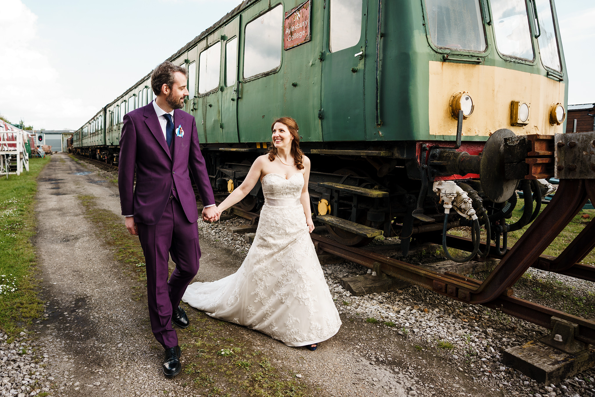 Laura and Edward - Buckinghamshire Railway Centre