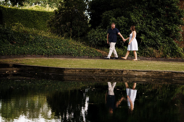 Engagement Session - Micklefield Hall, Hertfordshire