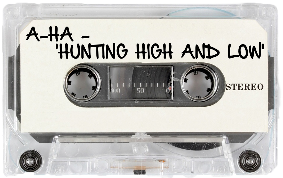 155 A-HA - 'HUNTING HIGH AND LOW'.jpg