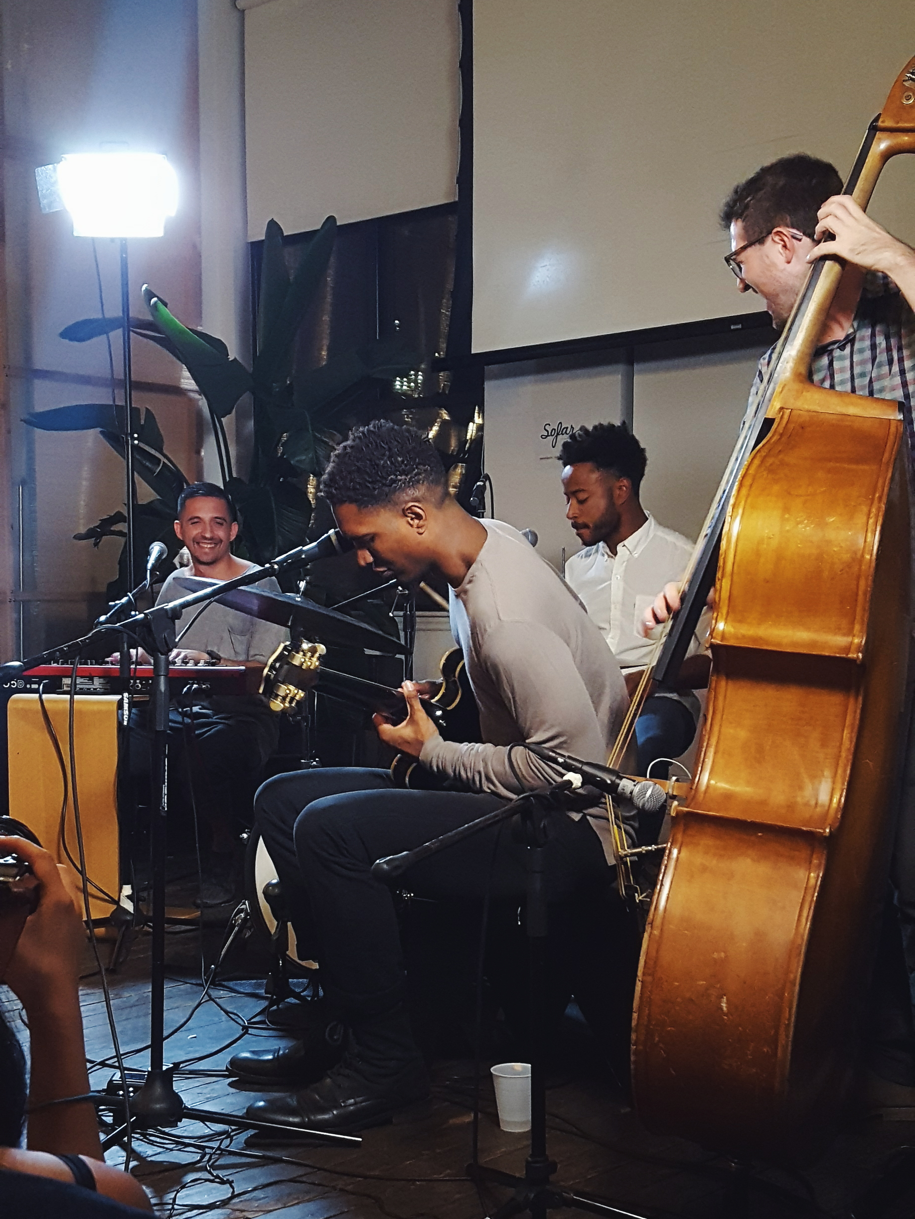 Sugar Sugar @So Far Sounds NYC which provides intimate music events with local acts in 274 cities around the world.