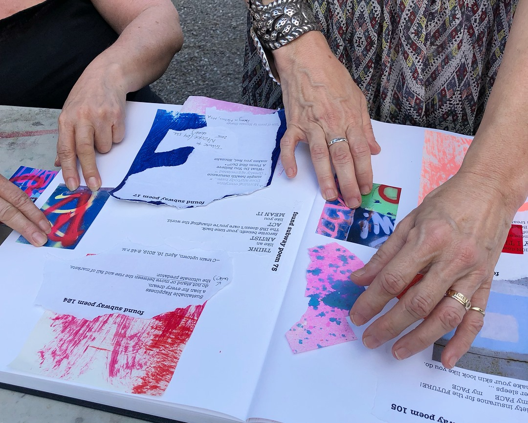 Collaborative Book-Making on Anxiety -