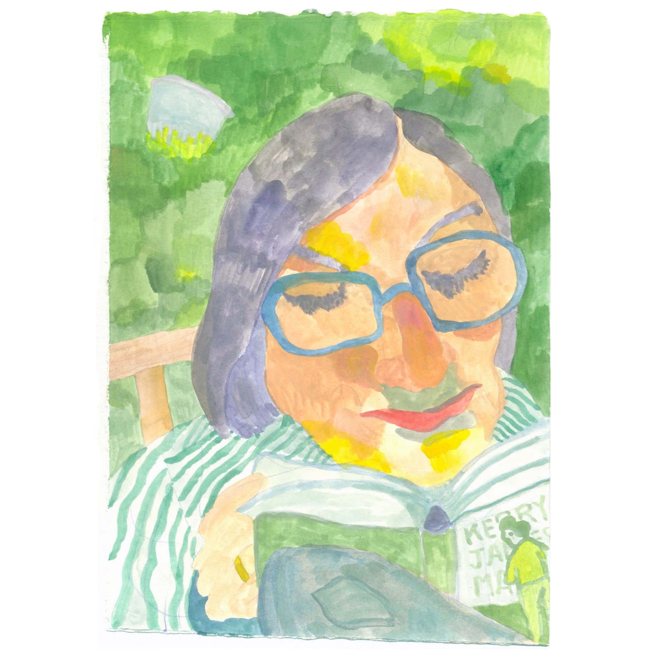 Watercolor Portraits -