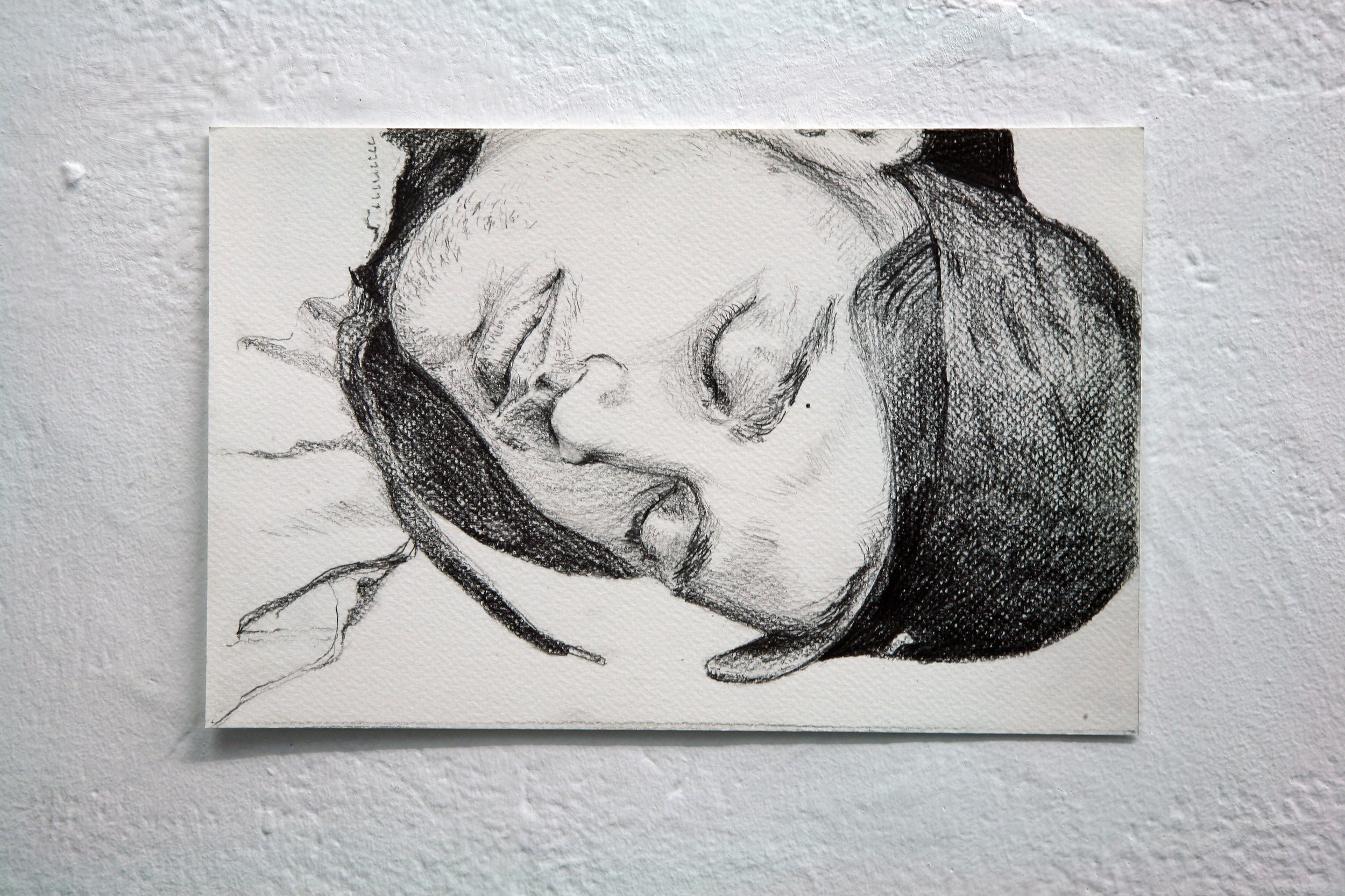 Artist Claire Hooper's sketch work- The Blessing (2007/ 2008).
