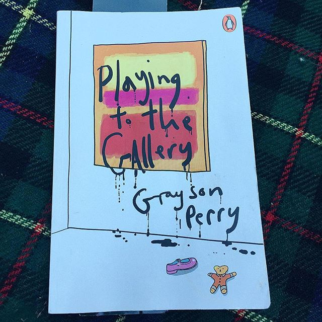 💛💖❤️🖤 #GraysonPerry #playingtothegallery