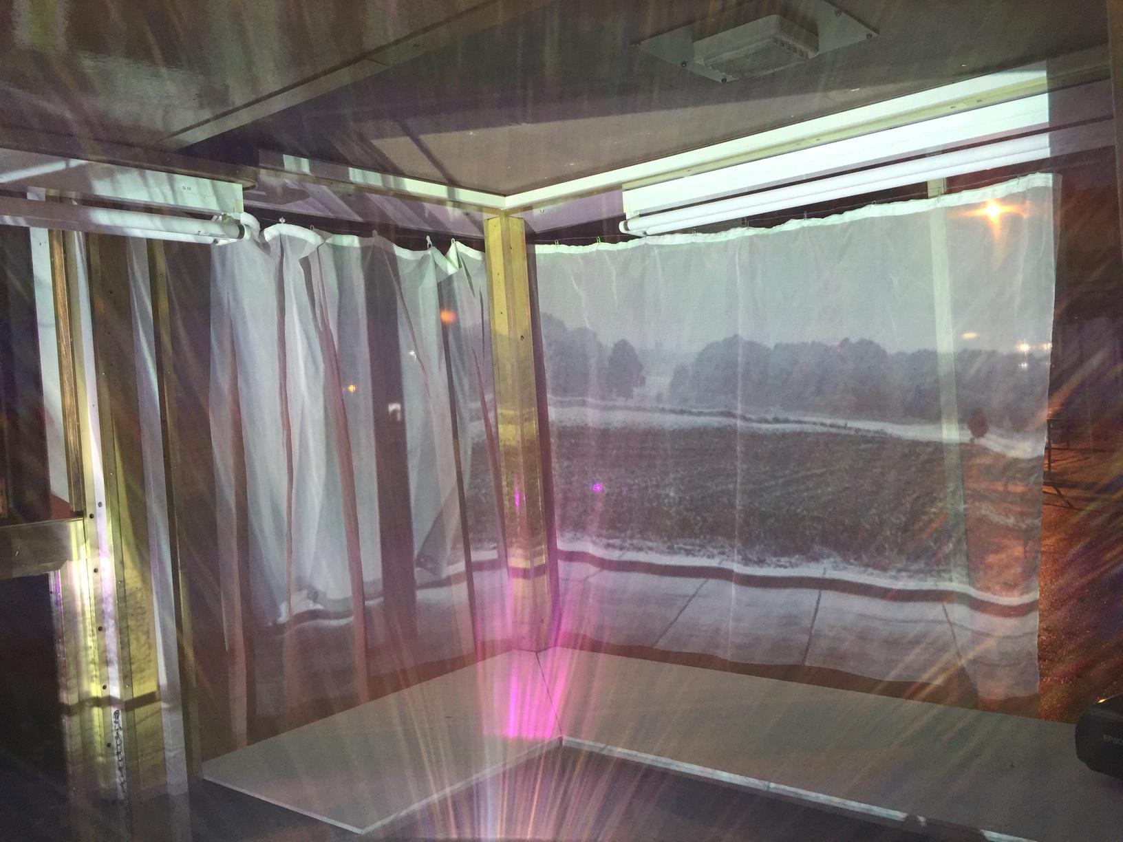 Video installation by Astrid Busch