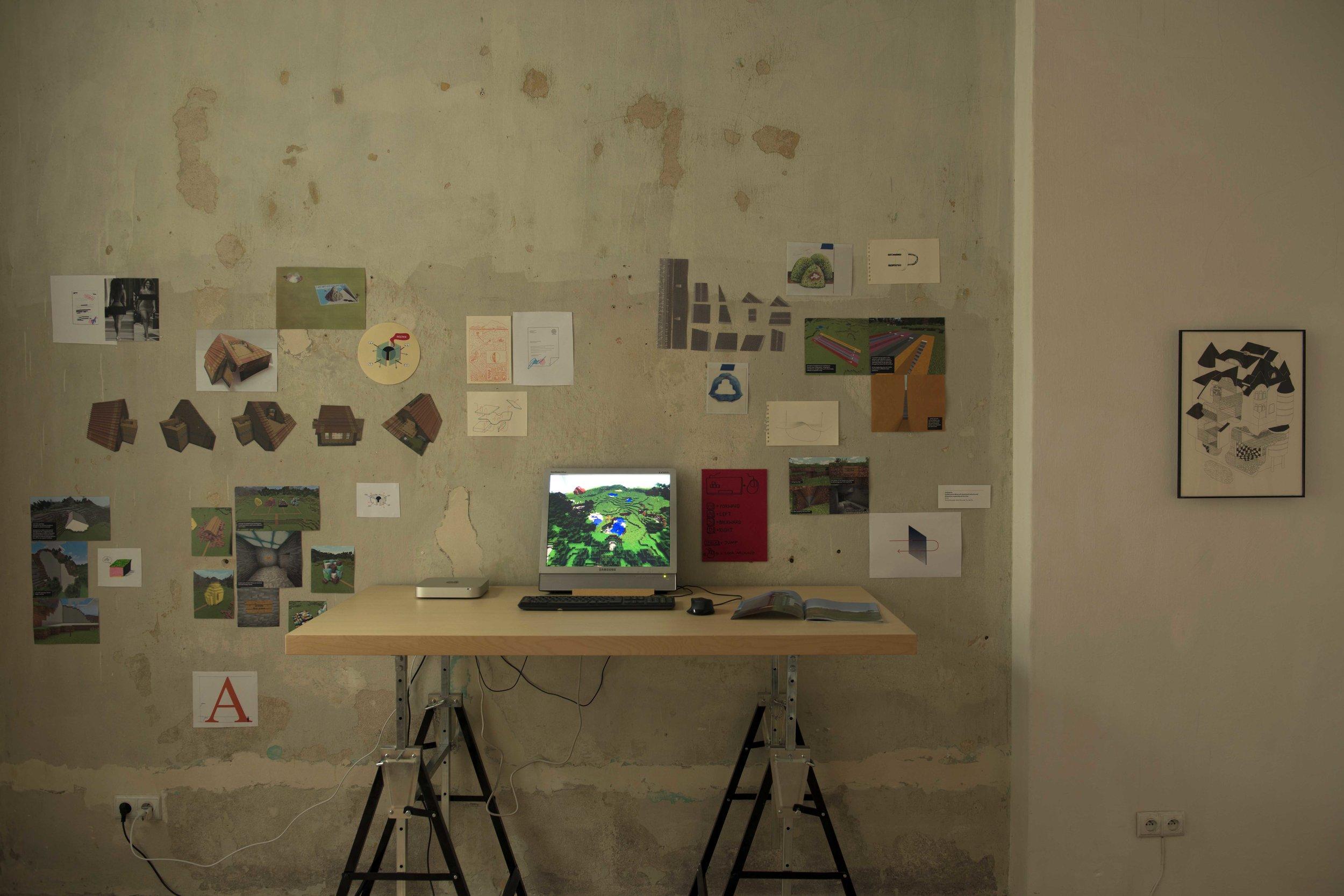 Collective work by Tymek Borowski, Rafał Dominik and Tzu Han Su