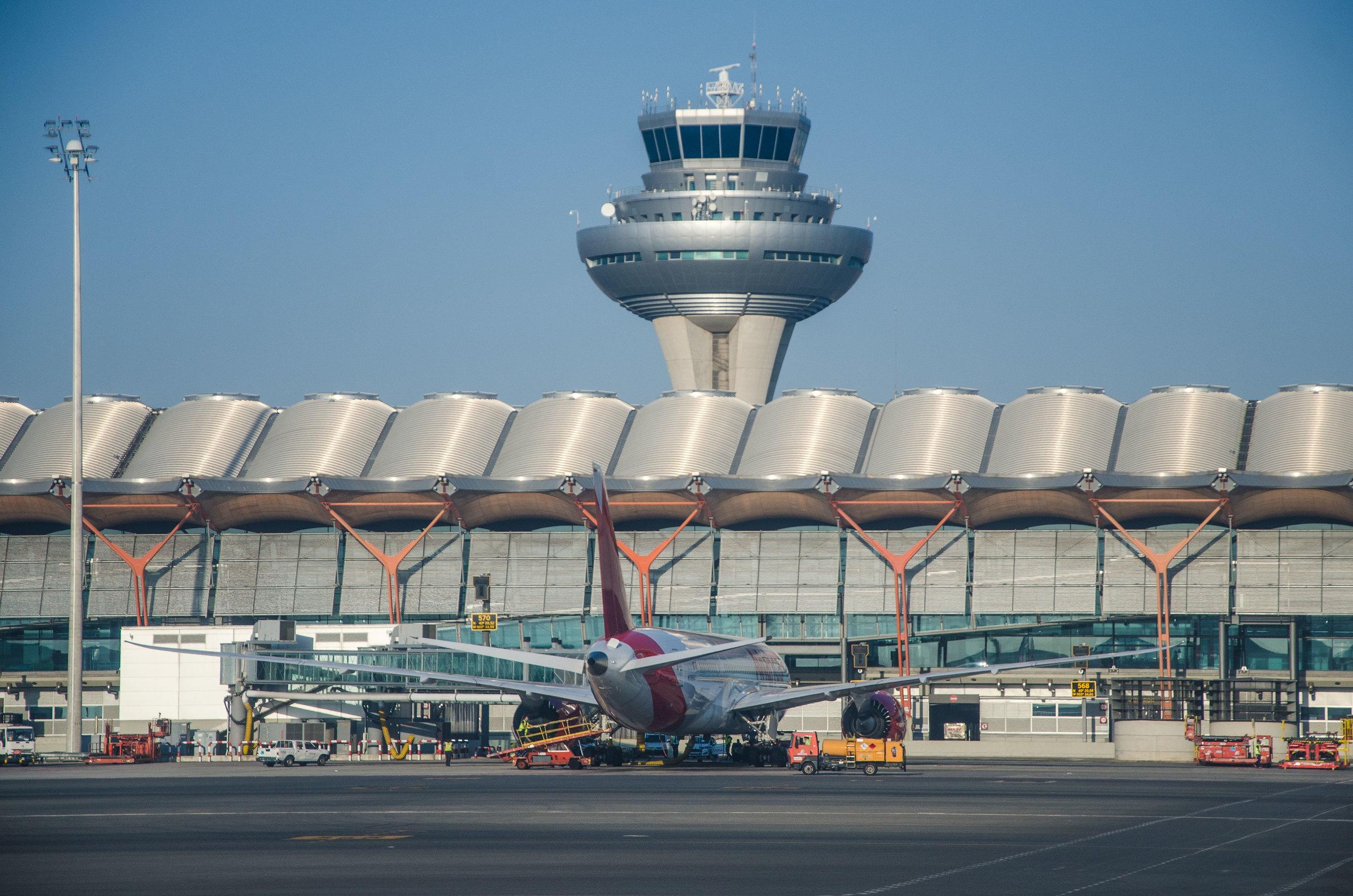 Madrid Adolfo Suarez Barajas Airport Terminal 4S