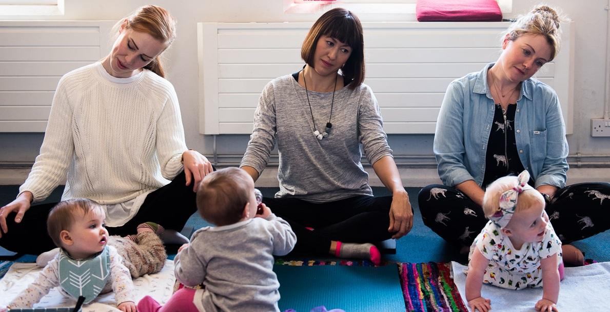 Baby Yoga - 8 weeks old - 12 months oldStreatham