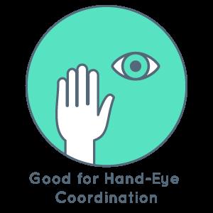 Good for hand-eye coordination
