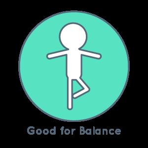 Good for balance