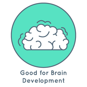 Good for brain development