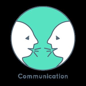 Encourages communication