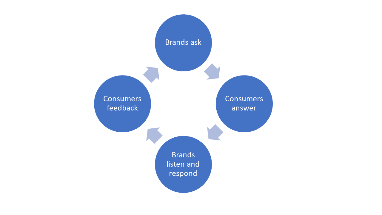 Figure 1: Brand Market Research Conversation Cycle