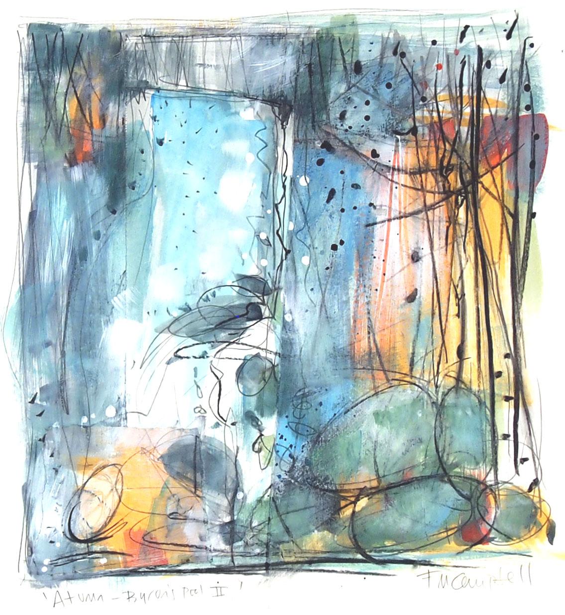 'Autumn - Byron's Pool II' SOLD