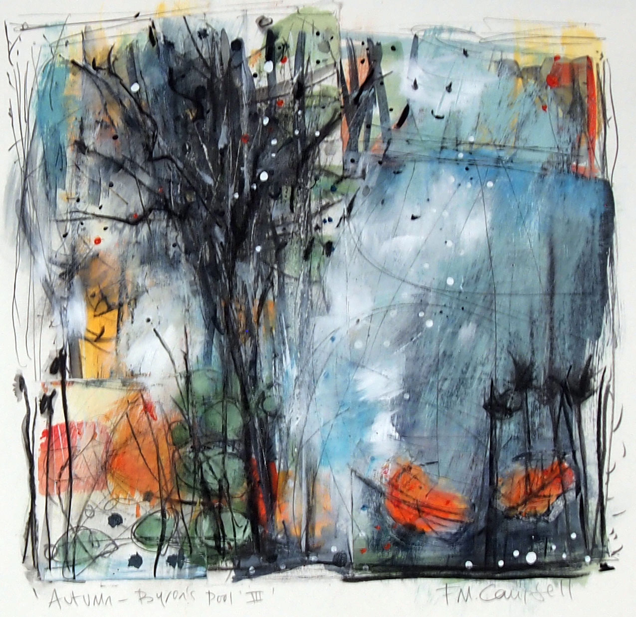 'Autumn - Byron's Pool III'